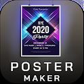 Poster Maker Flyer Maker 2020 free Ads Page Design icon