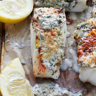 20 Minute Lemon, Garlic, and Herb Baked Cod.