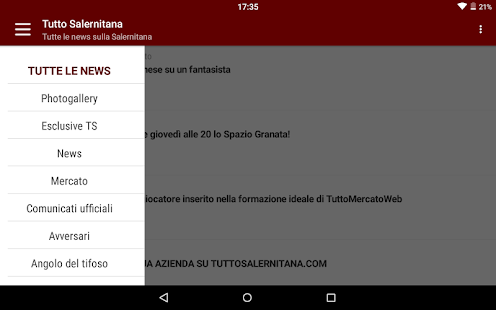 Tutto Salernitana- screenshot thumbnail