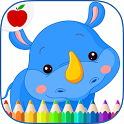 Baby Animals Coloring Book icon