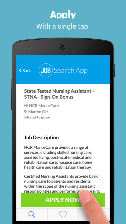 Job Search App - startjobs- screenshot