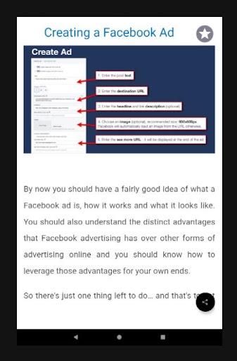 Facebook Marketing Guide 1.0 screenshots 9