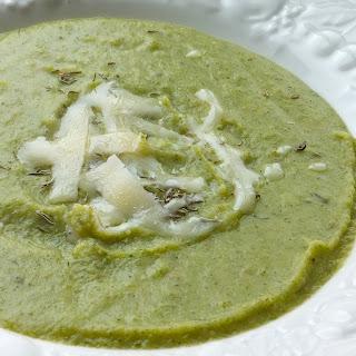 Super Simple Broccoli and Potato Soup