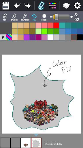 Dot Maker - Pixel Art Painter screenshot 12