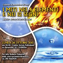 Foto: I Miti nei 4 elementi e nei 12 segni. 28 ottobre 2013 a Gorizia