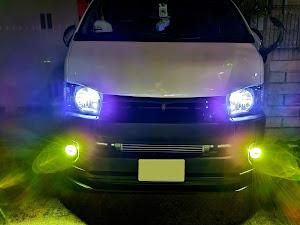 ハイエースバン TRH200V SUPER GL 2018年式のカスタム事例画像 keiji@黒バンパー愛好会さんの2020年06月29日23:25の投稿