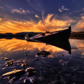 Sunset. by John Aavitsland - Landscapes Sunsets & Sunrises
