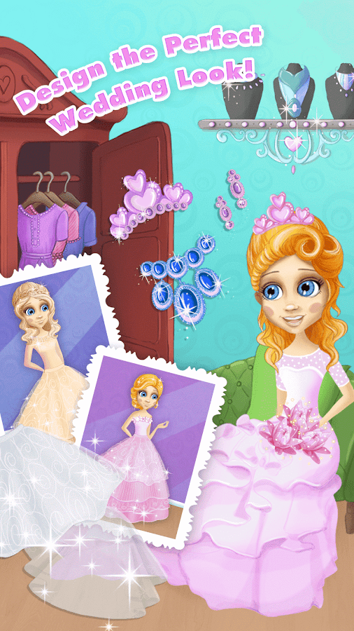Dream Wedding Day - Girls Game- screenshot