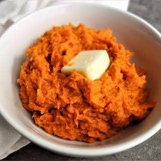 Mashed Sweet Potatoes.