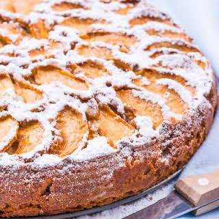 Easy Cinnamon Apple Cake.