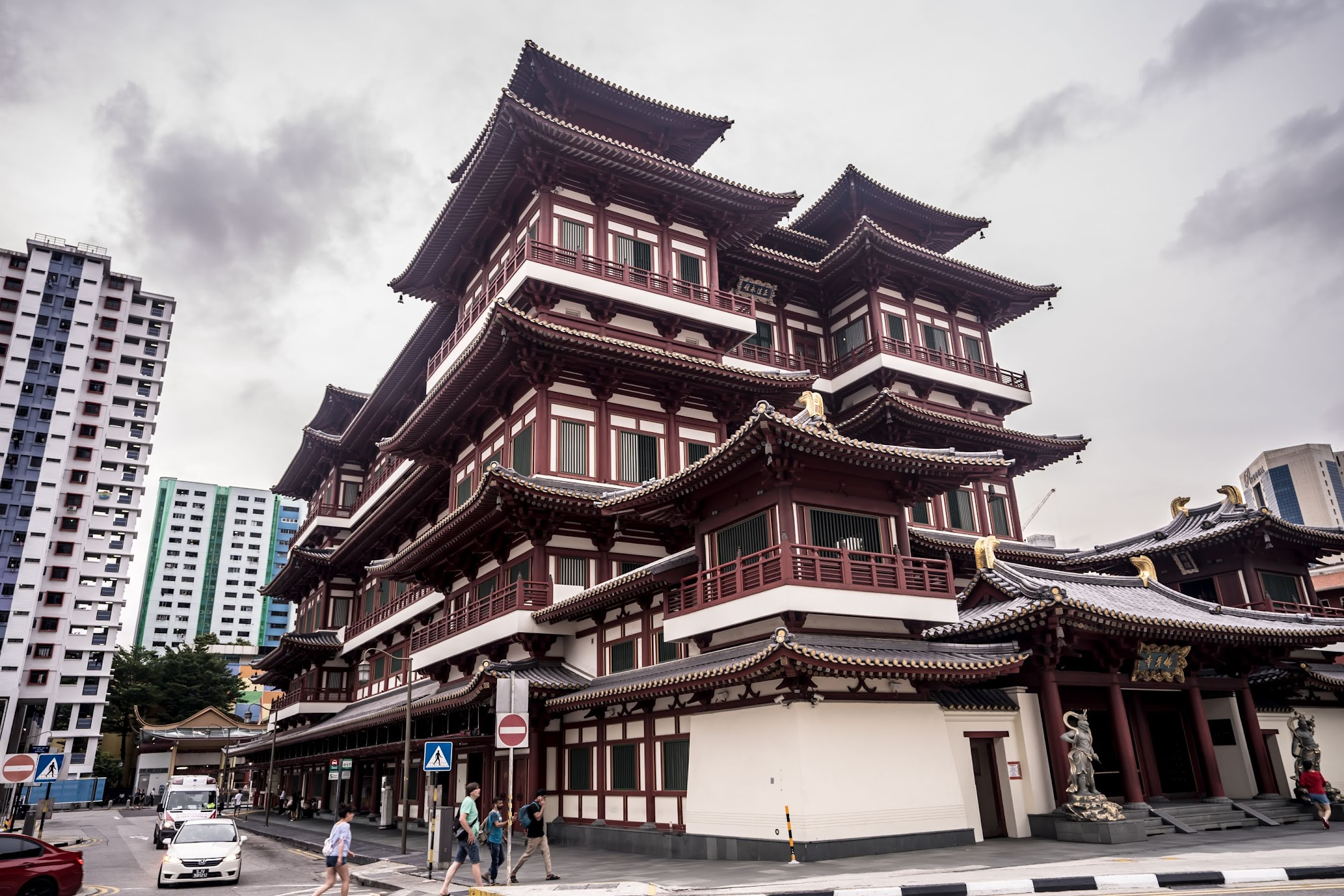シンガポール チャイナタウン 新加坡佛牙寺龍牙院 (Buddha Tooth Relic Temple and MuseumBuddha Tooth Relic Temple and Museum)2