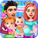 Mommy Maternity Newborn Twins Baby Nursery Game 🍼 icon