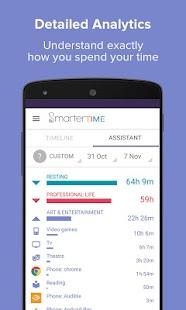 Smarter Time - Time Tracker - Time Management - náhled