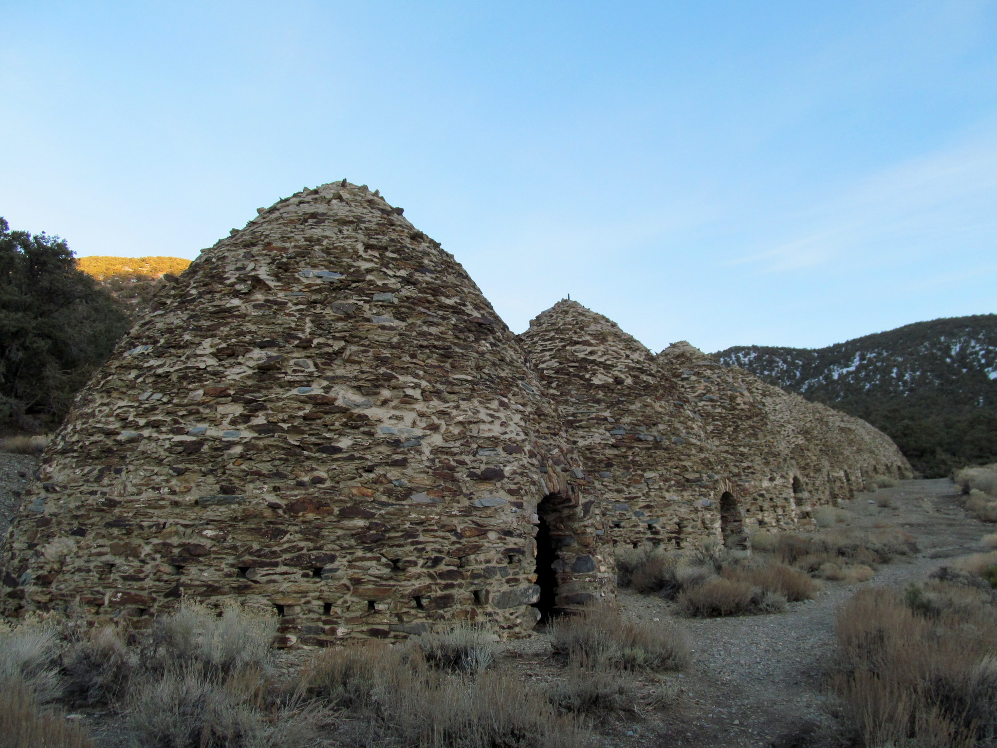 Photo: Wildrose charcoal kilns
