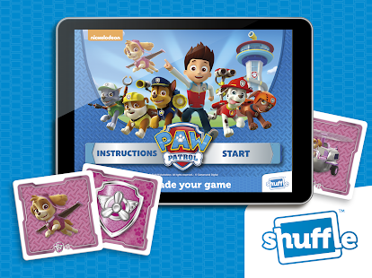 Paw Patrol by ShuffleCards- screenshot thumbnail