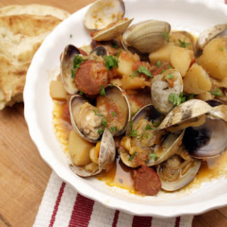 Portuguese Chorizo and Clams