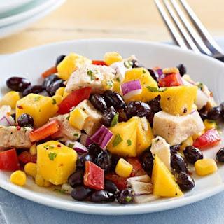 Weight Watchers Chicken, Mango, and Black Bean Salad