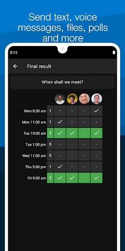 Threema Work 4.33k screenshots 6