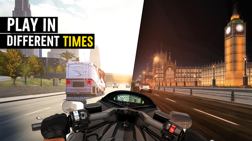 MotorBike: Traffic & Drag Racing I New Race Game apkpoly screenshots 4