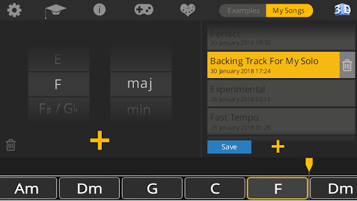 Guitar 3D - Basic Chords  screenshots 12