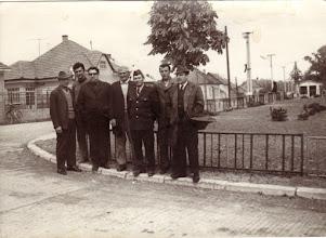 Photo: Önkéntes tűzoltók 1972, balról jobbra :Kustyán Lajos, Misák Endre, Fél László - Bálint, Beke Károly, Gaál Lajos, Ádám István, Szabó Gyula