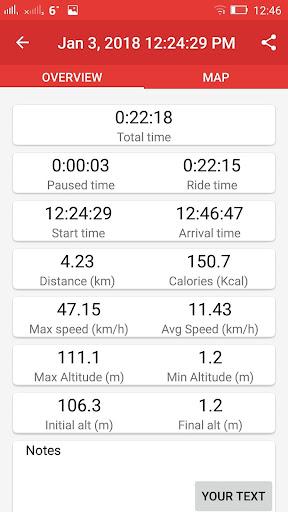 Walking GPS fitness tracker 2.0 screenshots 4