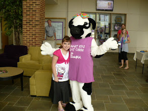 Photo: Speech Therapy child w/ Miss Cow
