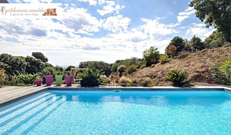 Villa avec piscine et jardin Bastelicaccia