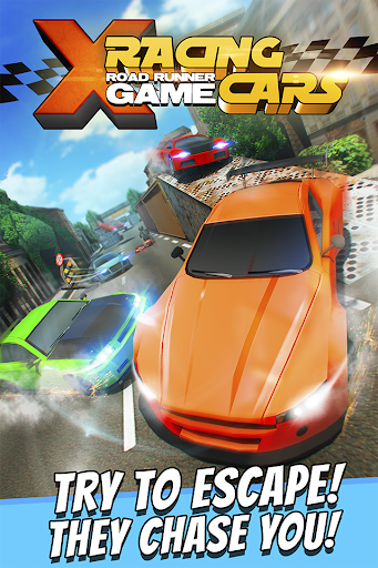 X Racing Cars Road Runner Game