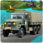 Drive Army Truck 3D Hill Climb Icon