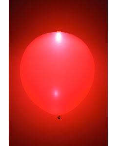LED-ballong, röd 5st