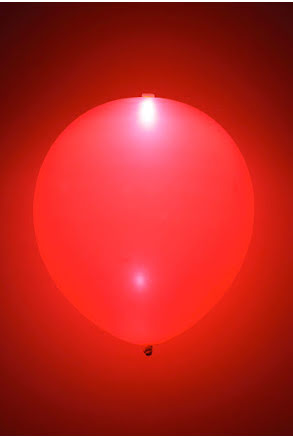 LED-ballonger, röda
