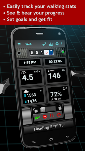 Walking Odometer Pro: GPS Fitness Pedometer screenshots 9
