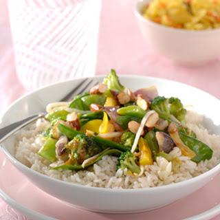 Chinese Five Spice-groenten met amandelen