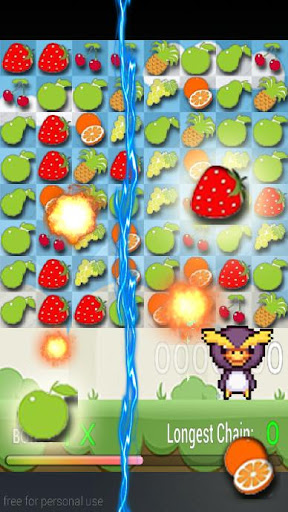 水果比赛短跑拼图
