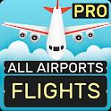 Flight Information Pro: Arrivals & Departures icon