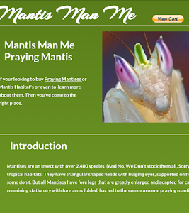 Mantis Man Me screenshot 0