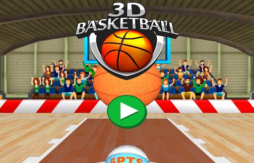 3D Basketball - Earn Bonus Points  screenshots 1