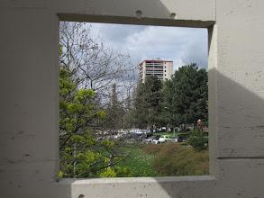 Photo: Fenêtre sur Tour - Passerelle Allende (Crédits Association PARI)