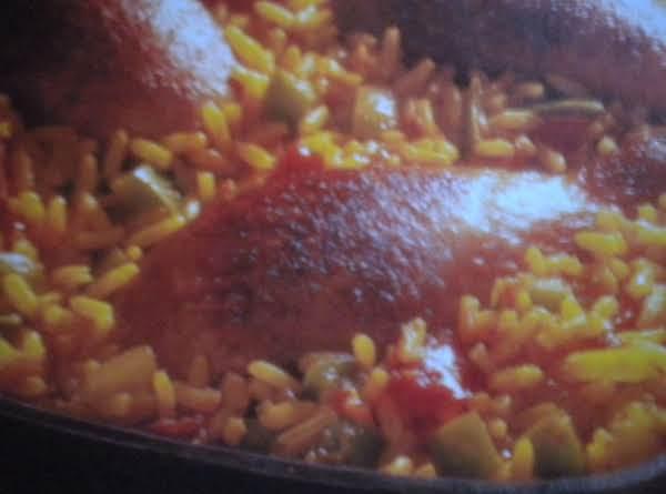Spanish Rice & Chicken Skillet Recipe