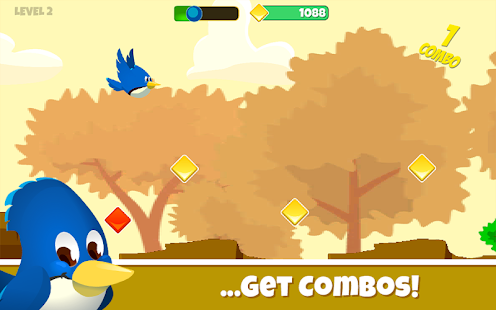 Fly Bye Birdie! - Tap, Flap and Go - náhled