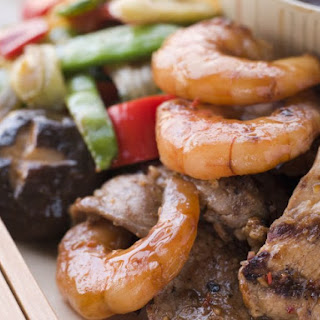 Meat and Seafood on the Griddle (Teppan Yaki) Recipe