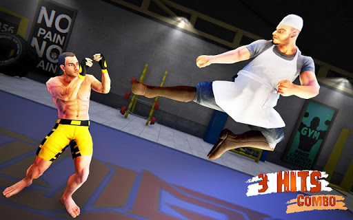 Kung Fu Star Fighting Arena Screenshot