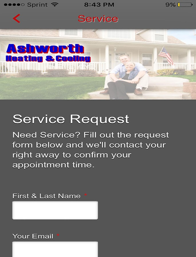 Ashworth Heating & Cooling- screenshot