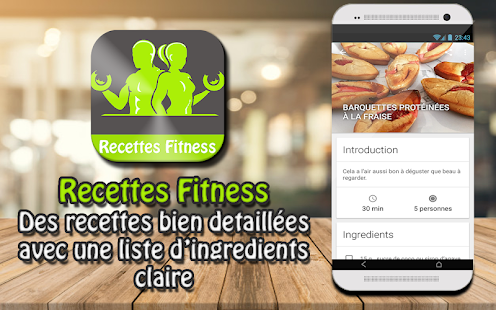 Recette fitness musculation s che et minceur apps on google play - Recette cuisine musculation ...
