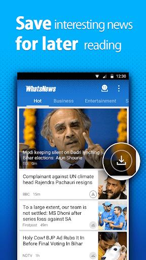玩免費新聞APP 下載WhatsNews app不用錢 硬是要APP