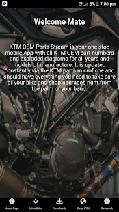 blake's k.t.m oem parts stream - android apps on google play