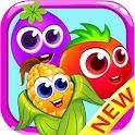 Veggies garden : Vegetable carnival match 3 crush icon