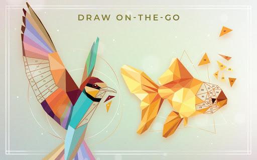 UNICORN Low Poly | Puzzle Art Game | Polygonal Art screenshot 5