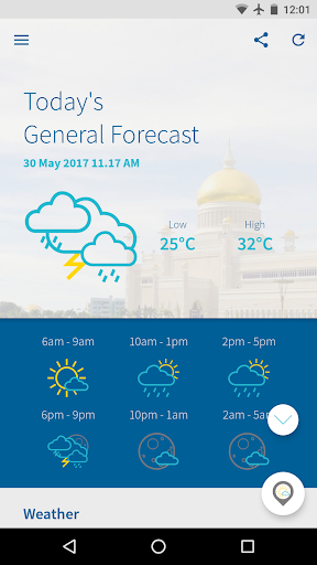 Brunei WX  screenshots 2